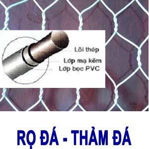 rọ đá bọc PVC