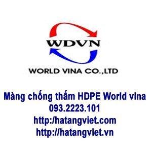 Màng chống thấm HDPE World vina