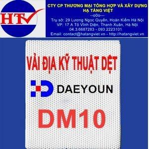 Vải địa kỹ thuật dệt DM10