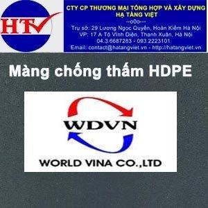 Màng chống thấm HDPE Worldvina 3.0mm