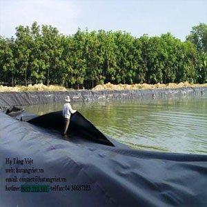 HƯớng dẫn thi công màng HDPE hồ sinh học