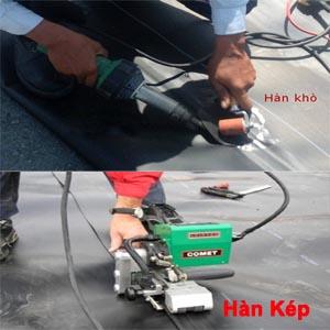 Hướng dẫn thi công màng chống thấm HDPE