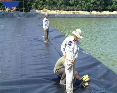 Màng chống thấm HDPE trong xử lý nước