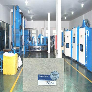 Nhà máy sản xuất vải địa kỹ thuật TS