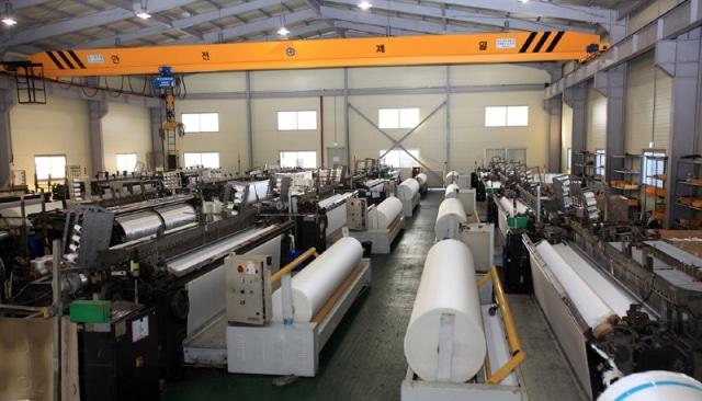 Nhà máy sản xuất vải địa kỹ thuật dệt DM