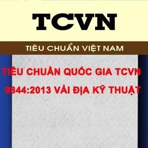Tiêu chuẩn quốc gia TCVN 9844:2013 Vải địa kỹ thuật