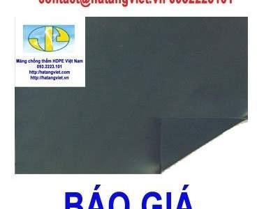 Báo giá màng chống thấm HDPE Vip