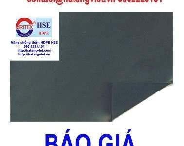 Báo giá màng chống thấm HDPE HSE