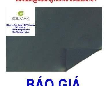 Báo giá màng chống thấm HDPE Solmax