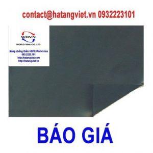 Báo giá màng chống thấm HDPE world vina