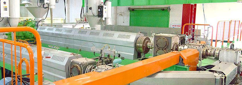 Nhà máy sản xuất màng chống thấm HDPE World vina