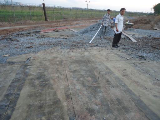 Giấy dầu đổ bê tông