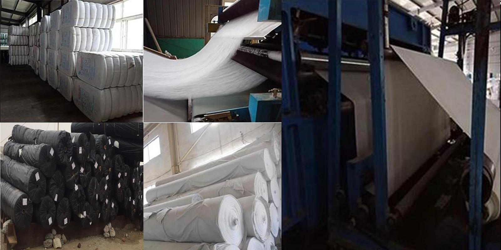 Quy trình sản xuất vải địa kỹ thuật