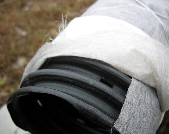ứng dụng bọc ống nước